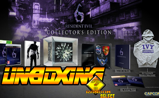 Resident Evil 6 Collector Edition Unboxing