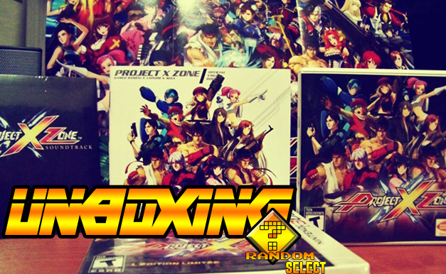 Unboxing Project X Zone Limited Edition