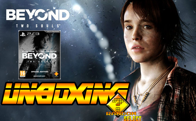 Beyond Two Souls Special Edition Unboxing